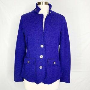 Eileen Fisher Merino Wool Blend Jacket